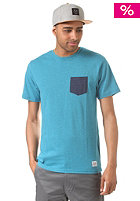 LAKEVILLE MOUNTAIN Pocket aqua heather/navy heather