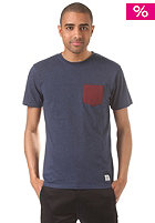 LAKEVILLE MOUNTAIN Pocket navy heather/maroon heather