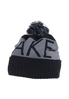 LAKEVILLE MOUNTAIN Pompom Beanie black/grey