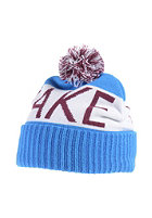LAKEVILLE MOUNTAIN Pompom cyan/white/maroon