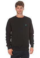 LAKEVILLE MOUNTAIN Premium Crewneck Sweatshirt black/cyan