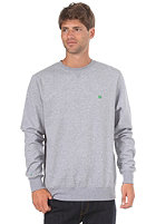 LAKEVILLE MOUNTAIN Premium Crewneck Sweatshirt heather grey/green