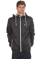 LAKEVILLE MOUNTAIN Premium Ripstop Windbreaker black/white