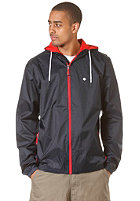 LAKEVILLE MOUNTAIN Premium Ripstop Windbreaker navy/red