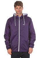 LAKEVILLE MOUNTAIN Premium Ripstop Windbreaker purple/white