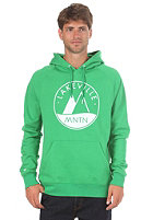 LAKEVILLE MOUNTAIN Raglan Logo 1.0 Hooded Sweat green/white