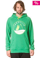 LAKEVILLE MOUNTAIN Raglan Premium Logo Hooded Sweat kelly green/lime