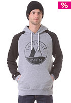 LAKEVILLE MOUNTAIN Raglan Two Tone Logo 1.0 grey heather/black