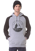 LAKEVILLE MOUNTAIN Raglan Two Tone Logo 1.0 Hooded Sweat grey heather/black