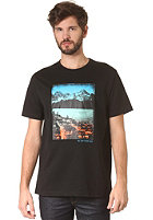 LAKEVILLE MOUNTAIN Scenario S/S T-Shirt black/mc