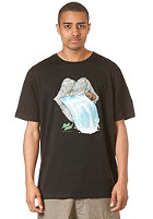 LAKEVILLE MOUNTAIN Solid As A Rock S/S T-Shirt black/royal