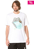 LAKEVILLE MOUNTAIN Solid As A Rock S/S T-Shirt white/mint