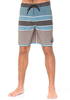 LAKEVILLE MOUNTAIN Striped Performance grey heather/aqua