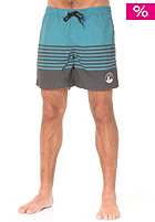 LAKEVILLE MOUNTAIN Striped Volley dark grey heather/aqua
