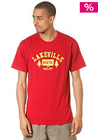 LAKEVILLE MOUNTAIN Tree Love S/S T-Shirt chilly red/yellow