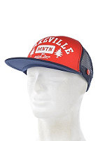 LAKEVILLE MOUNTAIN Tree Love Trucker Cap navy/red/white