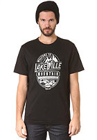 LAKEVILLE MOUNTAIN Welcome S/S T-Shirt black/white