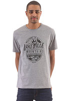 LAKEVILLE MOUNTAIN Welcome S/S T-Shirt grey heather/black