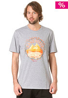 LAKEVILLE MOUNTAIN With Nature S/S T-Shirt grey heather/orange