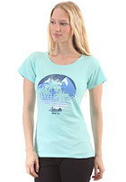 LAKEVILLE MOUNTAIN Womens Both Worlds S/S T-Shirt aqua/mc