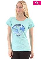 Womens Both Worlds S/S T-Shirt aqua/mc