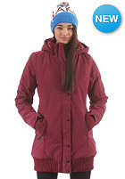 LAKEVILLE MOUNTAIN Womens Parka Jacket maroon