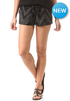 Womens Plain Shorts grey/black