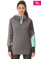 LAKEVILLE MOUNTAIN Womens Zig Zag dark grey heather/aqua