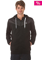 LAKEVILLE MOUNTAIN Yoke Premium Hooded Zip Sweat black/grey/white