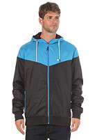 LAKEVILLE MOUNTAIN Yoke Premium Ripstop Windbreaker black/cyan