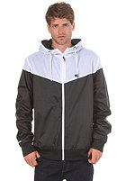 LAKEVILLE MOUNTAIN Yoke Premium Ripstop Windbreaker black/white