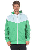 LAKEVILLE MOUNTAIN Yoke Premium Ripstop Windbreaker green/white