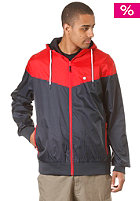 LAKEVILLE MOUNTAIN Yoke Premium Ripstop Windbreaker navy/red