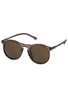 LE SPECS Bojangles brown stripe/brown mono lens