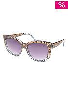 LE SPECS Hatter Sunglasses blue cheetah grad