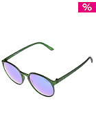 LE SPECS Swizzle (Le Though) Sunglasses matte khaki / greenrevo mirror