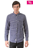 LEE Button Down L/S washed blue