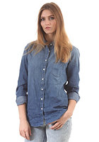 LEE Womens 1 Pocket L/S Denim Shirt blue ice