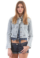 LEE Womens Cropped Rider L/S Denim Shirt icy moon