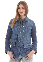 LEE Womens Slim Rider L/S Denim Shirt spring blue