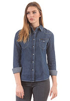 LEE Womens Slim Western L/S Denim Shirt edgy wash