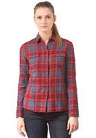 LEE Womens Slim Western Shirt dark red