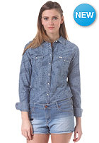 LEE Womens Western L/S Shirt blue ice