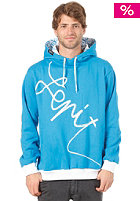 LEPIT Line Hooded Sweat blue white