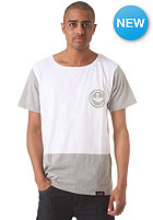 LEPIT Quattro S/S T-Shirt white heather gray