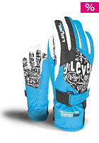 LEVEL Kids Junior Gloves blue
