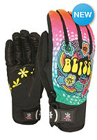 LEVEL Womens Bliss Sweety Pipe Gloves pk rainbow