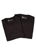 LEVIS 2 Pack Crew Neck S/S T-Shirt black/black 59