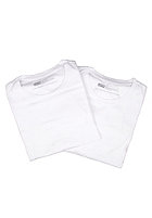 LEVIS 2 Pack Crew Neck S/S T-Shirt white/white 60