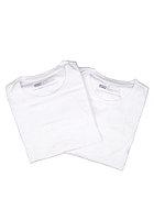 LEVIS 2 Pack Crew Neck S/S T-Shirt white/white 60